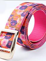 Women Canvas / Nylon Waist Belt , Vintage / Casual Alloy