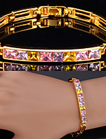 InStyle Cool Heats Women 18K Chunky Gold Plated bracelet bangle unisex