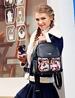 HOWRU® HOWRU® Women 's PU Backpack/Tote Bag/Leisure bag/Travel Bag -Black/Wine