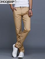 AOLONGQISHI® Men's Casual Pure Suits Pants (Cotton) 8006-1