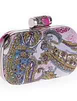 L.WEST®  Women's  Event/Party / Wedding / Evening Bag The Printing Delicate Handbag