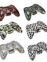 Plastic Wireless Gamepad Case Controller Box Shell  Shock-resistant Dust-proof + Buttons Cover for XBOX 360