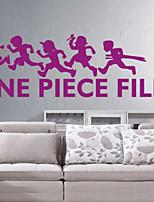 Fashion / People Wall Stickers Plane Wall Stickers , PVC 38cm*80cm