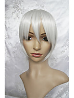 LanTing Cos Hetalia Axis Powers Iceland Short Silver Cosplay Wig Party Anime Hair