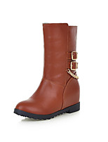 Women's Shoes Platform Fashion Boots / Comfort Boots Outdoor / Office & Career / Casual Black / Brown / Yellow