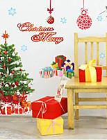Navidad / De moda Pegatinas de pared Calcomanías de Aviones para Pared , PVC 90cm*60cm