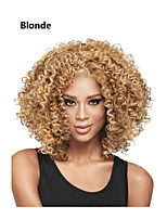 Fashion Mix-color Long Curly Woman's Synthetic Wigs Hair Freeshipping