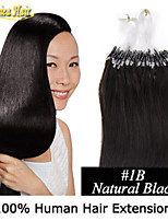 100% Micro Ring Hair Extensions ,Wedding Micro Loop Ring Hair Extensions 1G/Stand 100S/Lot Virgin Human Hair Extension