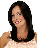 Fashion Foutique in Europe And The Wig Color Balck Long Straight Hair Top Quality