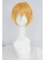 Lanting cos lanting libre Hazuki zhu oro corta cosplay del anime del partido peluca de pelo