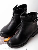 Women's Shoes Low Heel Combat Boots Boots Casual Black / Gray