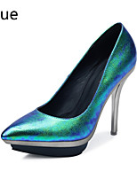 Women's Shoes Glitter / Leatherette Stiletto Heel Heels / Platform / Pointed Toe Heels