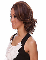 Top Quality Fashion Middle Long Curly Wig Woman's Synthetic Wigs