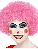 Christmas Necessary High Quality Pink Explosion Curly Hair The Wig