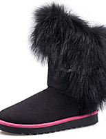 Women's Shoes Low Heel Snow Boots / Comfort / Round Toe Boots Casual Black / Yellow / Purple / Red