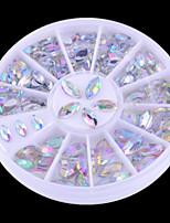 1PCS Rhinestones Decorations marquise diamond Nail Art