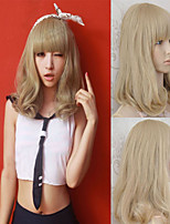 Japan And South Korea Popular Pear Flower Roll A Shave Short  Curly Hair Wigs
