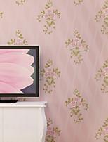 Contemporary Wallpaper Art Deco 3D Garden Flower Wallpaper Wall Covering Non-woven Fabric Wall Art