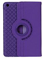 360 degrés grille cuir PU + étui tpu rotation w / support pour iPad 4/3/2