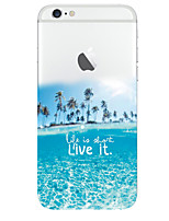 Para iPhone 8 iPhone 8 Plus Funda iPhone 5 Carcasa Funda Diseños Cubierta Trasera Funda Paisaje Suave TPU para iPhone 8 Plus iPhone 8
