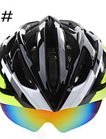 BASECAMP Cycling Helmet MTB Bike RoadBicycle Helmet+3 Pair Lens 6 Colors BC-018