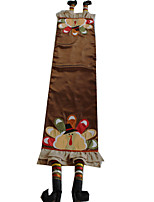 Multi-Purpose  Tablecloth With Size30X135CM&12X54INCH) With Embroidery Applique