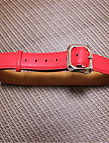 Ms Candy Color Fashion Women's Recreational Pin Buckle Belts
