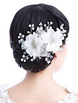 Hot Style Manual Headdress Flower Pearl Diamond Crystal Wedding Tiara