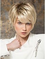 Women's Fashion Short Hair Wig Scorpio Wig with Side Bang