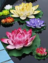 Polyester Lotus Fleurs artificielles