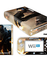 Decorative Decal Cover Sticker Skin for Nintendo Wii U Console & GamePad(Assorted Pattern)
