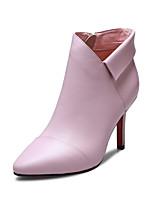 Zapatos de mujer - Tacón Stiletto - Puntiagudos / Botas a la Moda - Botas - Oficina y Trabajo / Vestido / Casual / Fiesta y Noche - Cuero