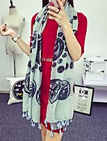 Women Cotton Blend Scarf , Vintage / Casual