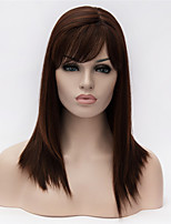 European and American Fashion Girl Selling Essential Black Color Quality Straight Hair Wig