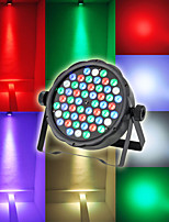 LT - 2 RGBW DMX512, Self-propelled, Voice-activated 54 × 3W LED Promise Mixed Color Stage Light
