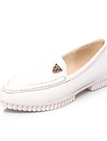 Women's Shoes Leatherette Flat Heel Pointed Toe Flats Outdoor / Casual Black / Blue / Pink / White