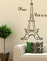 Still Life / Fashion Wall Stickers Plane Wall Stickers , PVC 104.7cm*55.9cm
