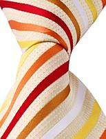Classic Jacquard Woven Silk Men Leisure Colored Tie Necktie