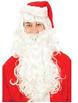 noodzakelijke hoge kwaliteit haar kerst kerstman modellering pruik