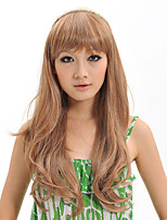 2015 Women Ombre Fashion Natural Wavy Janpanese Heat Resistant Synthetic Hair Wig XY020 26