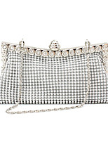 Women's Purse Fashion Europe Style Beads Clutch Bag Casual Wedding Party Purse Bride Bag