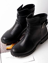 Women's Shoes  Chunky Heel Combat Boots / Pointed Toe Boots Outdoor / Casual Black / Gray
