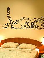 Animals / Fashion Wall Stickers Plane Wall Stickers , PVC 100m*40cm