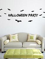 Bats PVC Wall Stickers  Halloween Decoration
