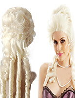 Manufacturers Selling Marie Antoinette Wig Europe And America Milk Golden Curls Unique In Form