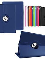 caja de cuero de la PU funda casos de la cubierta del tirón de rotación de 360 grados para el ipad pro 12.9 '' con la función del