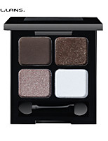 FULLILANS.Mei Four Color Eye Shadow. Distinct Perfect Makeup. 6 COLOR. F-0009  7.5g