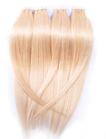 Brazilian PU Tape Virgin Hair Extensions #613 Bleach Blonde Top Grade 7A Remy Skin Weft Human Hair Extensions