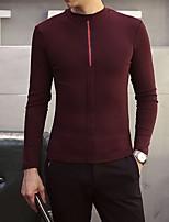 Men's Casual Long Sleeved T-shirt