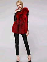 Women Faux Fur Top , Lined